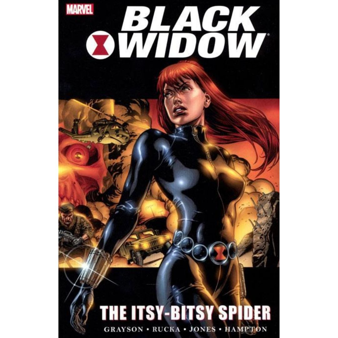 BLACK WIDOW ITSY BITSY SPIDER TP