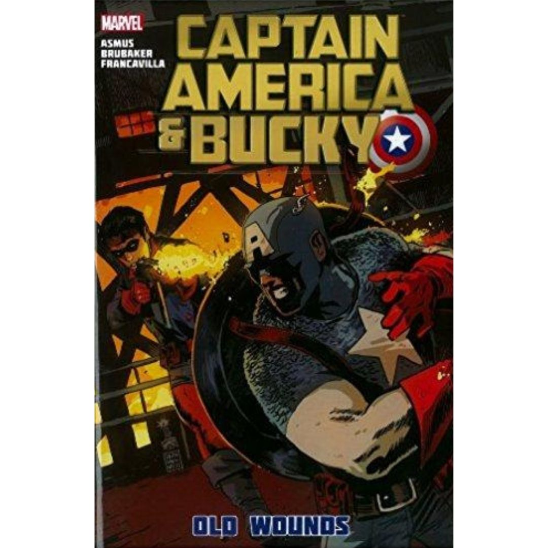 CAPTAIN AMERICA AND BUCKY OLD WOUNDS PREM HC