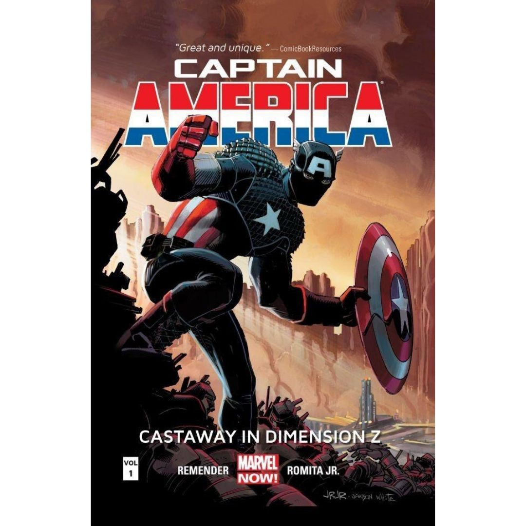CAPTAIN AMERICA TP VOL 01 CASTAWAY DIMENSION Z BOOK 1