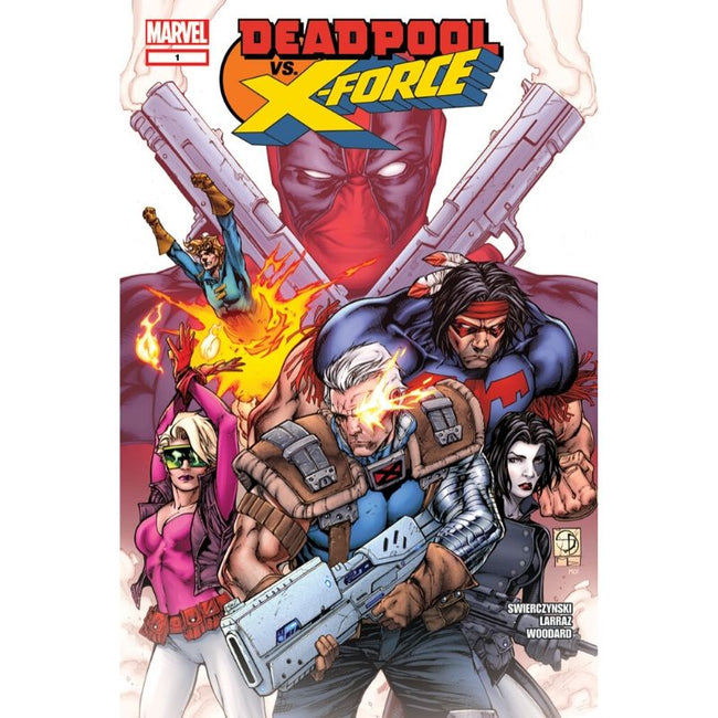 DEADPOOL VS. X-FORCE (2004) SET #1-4