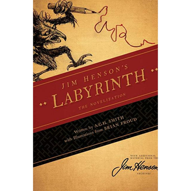 JIM HENSON LABYRINTH SC NOVEL