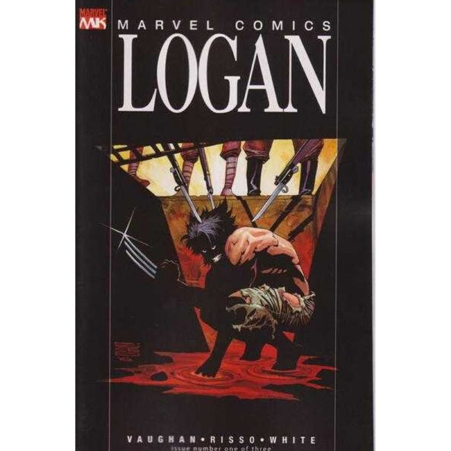 MARVEL COMICS LOGAN - SET #1 - 3 (2008)