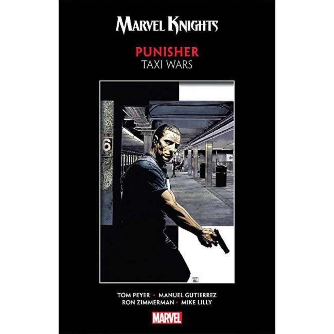 MARVEL KNIGHTS PUNISHER TP TAXI WARS