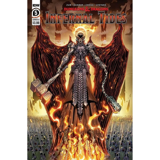 DUNGEONS & DRAGONS INFERNAL TIDES #5 (OF 5) CVR A DUNBAR