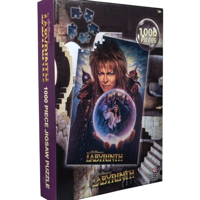 Labyrinth - Movie Poster Jigsaw Puzzle, 1000 Pieces