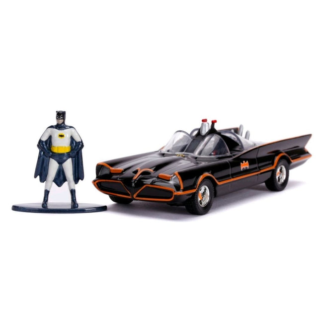 Batman (1966) - Batmobile with Figure 1:32 Scale Hollywood Ride