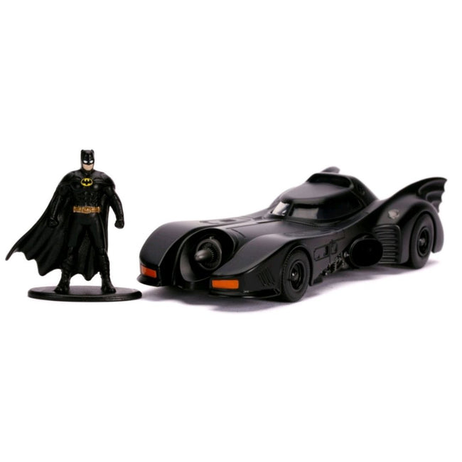 Batman (1989) - Batmobile with Figure 1:32 Scale Hollywood Ride