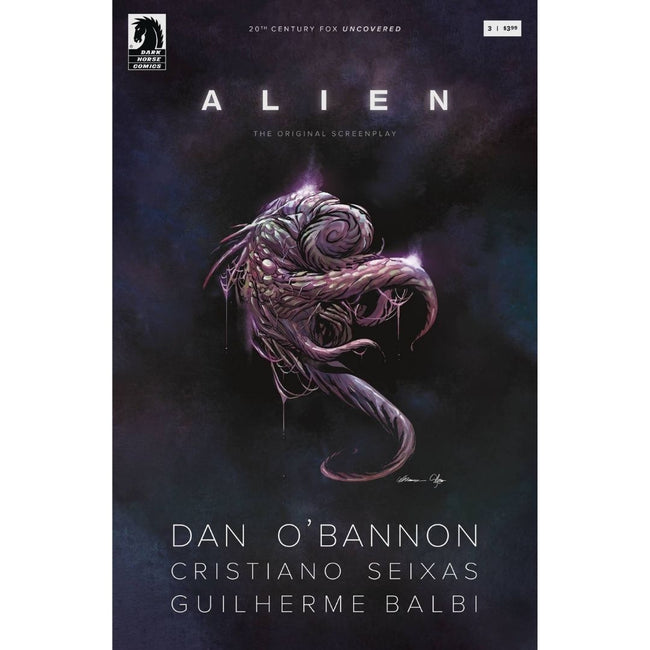 ALIEN ORIGINAL SCREENPLAY #3 (OF 5) CVR A BALBI