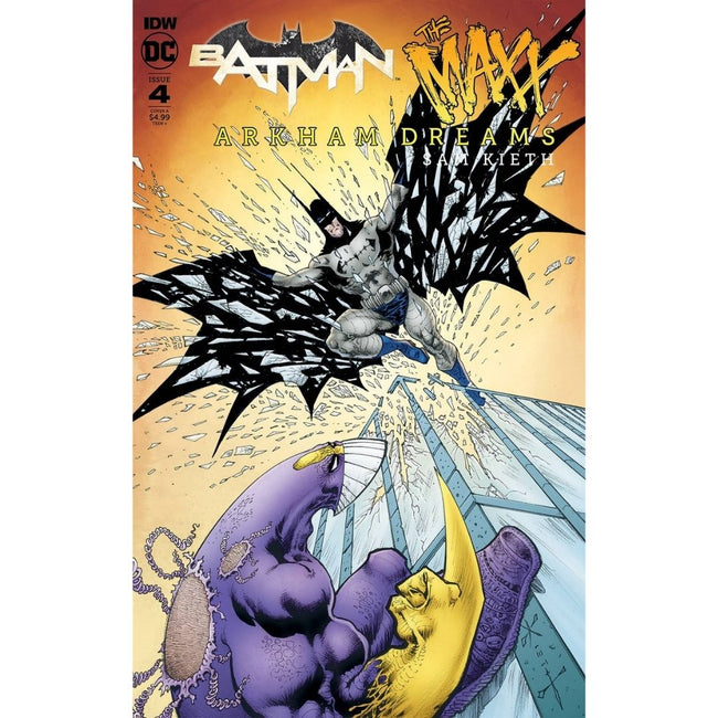 BATMAN THE MAXX ARKHAM DREAMS #4 (OF 5) CVR A KIETH