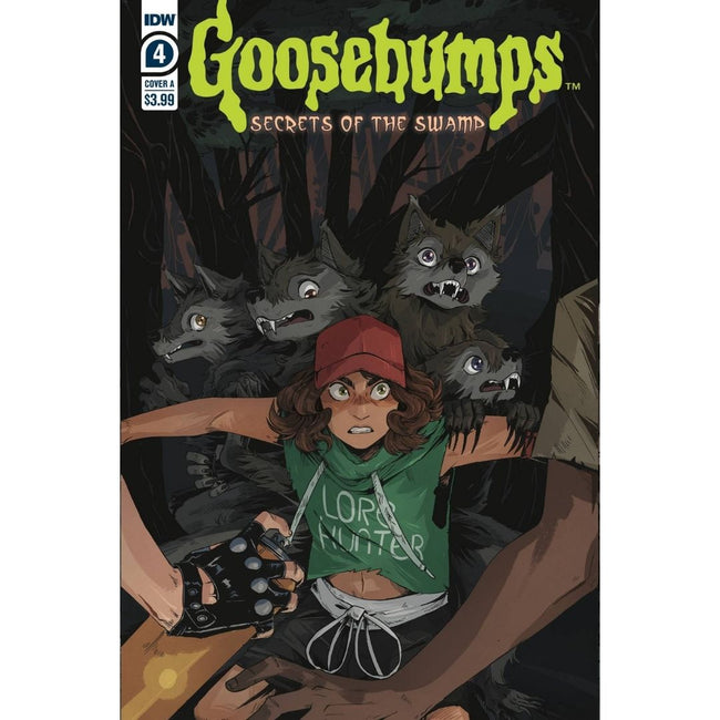GOOSEBUMPS SECRET OF THE SWAMP #4 (OF 5)