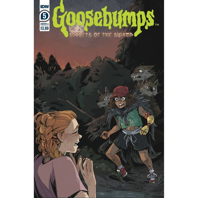 GOOSEBUMPS SECRETS OF THE SWAMP #5 (OF 5)