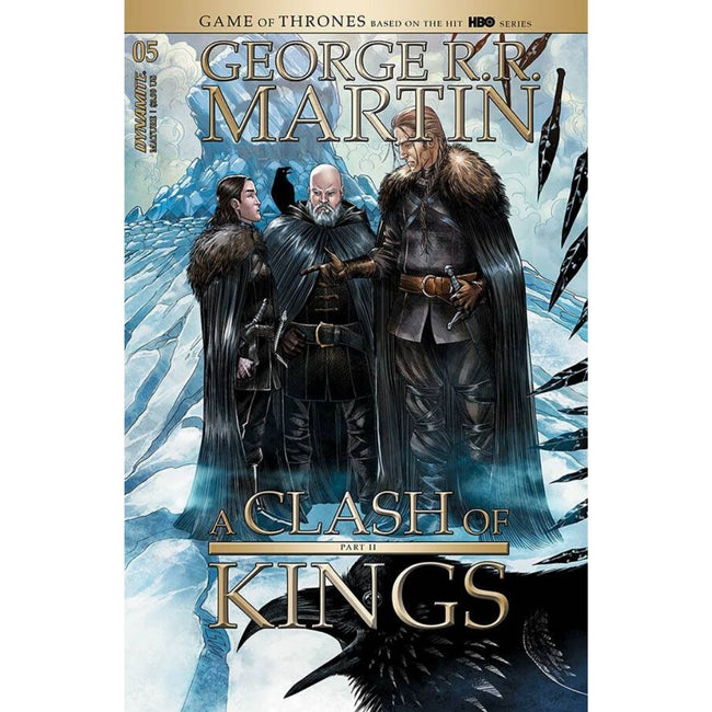 GEORGE RR MARTIN A CLASH OF KINGS #5 CVR A MILLER