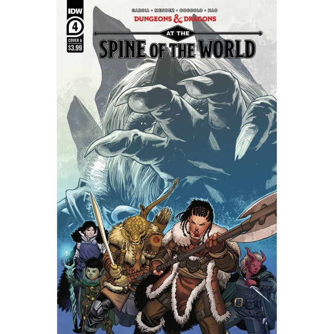 DUNGEONS & DRAGONS AT SPINE OF WORLD #4 (OF 4) CVR A COCCOLO