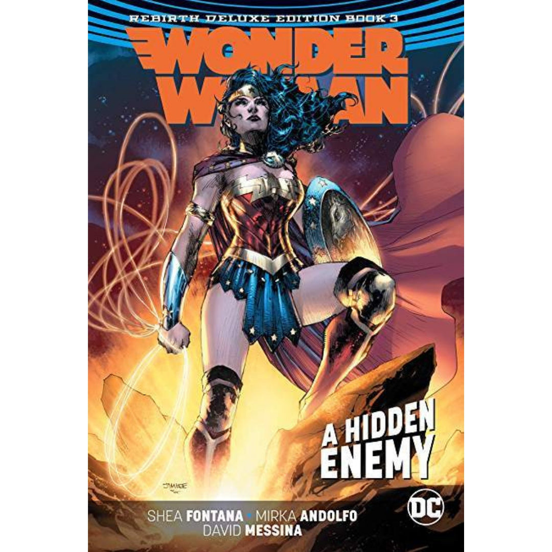 WONDER WOMAN REBIRTH DLX COLL HC BOOK 03