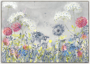 Dandelion Meadow Floating Canvas