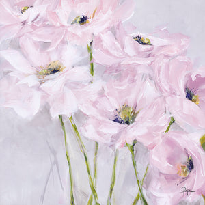 Pink Poppies Canvas