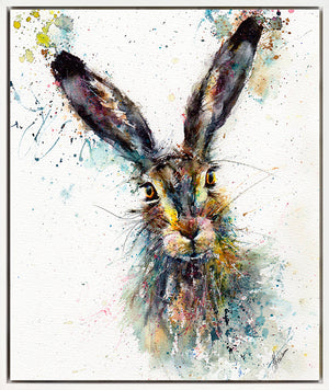 Century Hare Floating Canvas