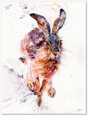 I'll Be There Hare Floating Canvas