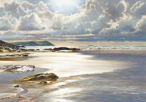 Glistening Tide - Canvas - Picture