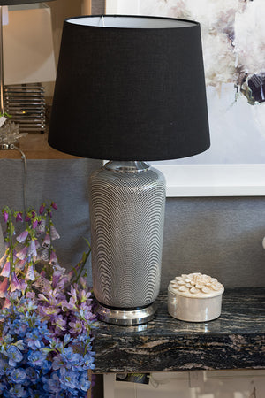 Chic Patterned Lamp