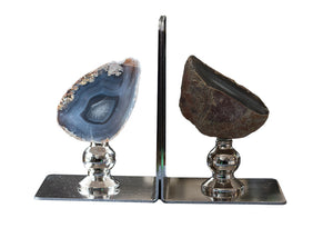 Gemstone Bookends