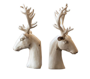 Pair of Deer Bookends