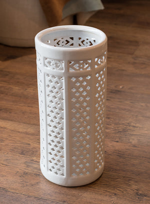 Pierced Umbrella Stand