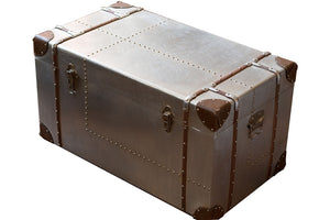 Large Silver Trunk