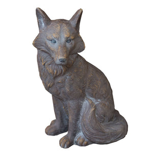 Sitting Fox Ornament