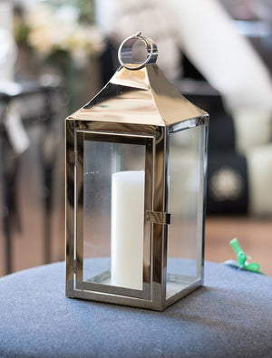 Small Gold Finish Lantern
