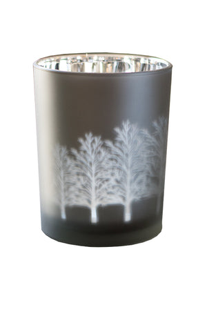 Small Silver T-Lite Candle Holder