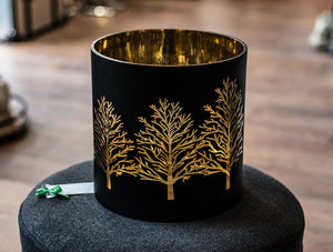 Extra Large Copper Tree Candle Holder