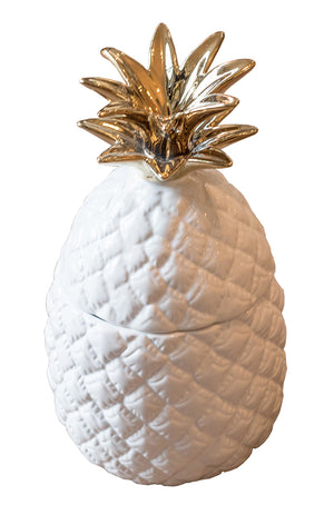 White Pineapple Jar