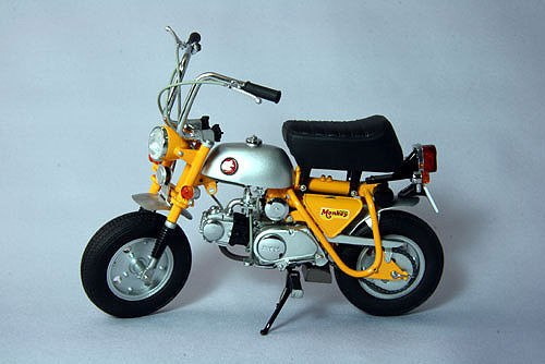 EBB10019 - HONDA MONKEY Z50A YELLOW