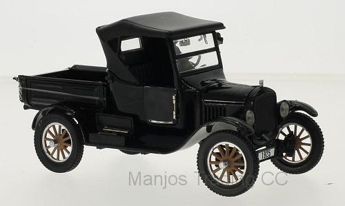 SUN1860 , 1925 FORD MODEL T ROADSTER PICKUP (CLOSED) BLACK
