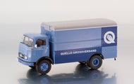 "PCL12105 - MERCEDES BENZ LP911 BOX TRUCK "" QUELLE """