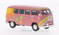 PCL13851 - VOLKSWAGEN T1 BUS FLOWER POWER