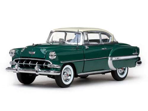 SUN1709 - 1954 CHEVROLET BEL AIR HARD TOPE COUPE IVORY GREEN