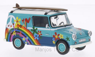 PCL11209 - VOLKSWAGEN TYPE 147 FRIDOLIN WITH SURFBOARD BLUE/WHITE