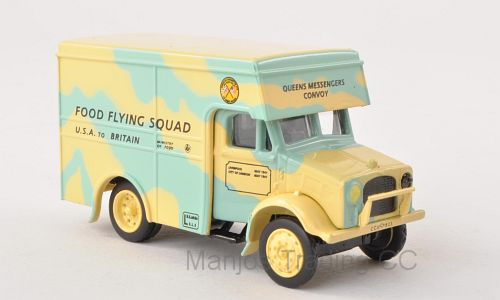FOOD FLYING SQUAD BEDFORD OX 30CWT VAN