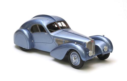 NEO18067 - 1938 BUGATTI T57 SC ATLANTIC GR/BLUE METALLIC - REPAIRED
