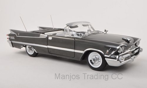 SUN5472 - 1959 DODGE CUSTOM ROYAL LANCER OPEN CONVERTIBLE PEWTER