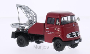 PCL18202 - MERCEDES BENZ L319 TOW TRUCK RED
