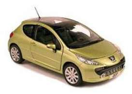 NOR184758 - PEUGEOT 207 METALLIC GOLD