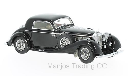 NEO46167 - MERCEDES BENZ 500/540K COUPE BLACK