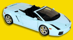 NOR187951 - LAMBORGHINI GALLARD SPYDER LIGHT BLUE