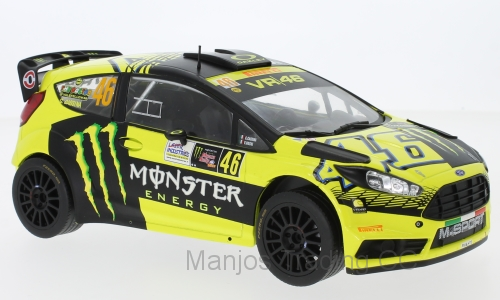 18RMC015 - RALLY FORD FIESTA V.ROSSI
