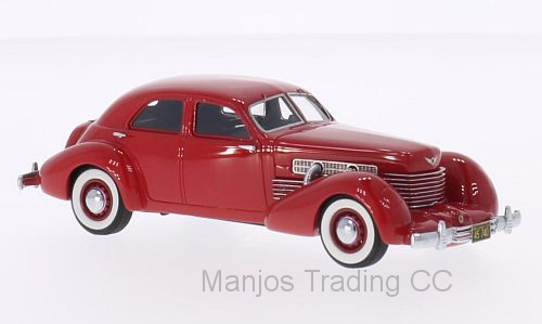 NEO45740 - CORD 812 SUPERCHARGED SEDAN RED 1937