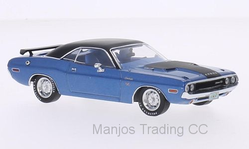 PRD406 - 1970 DODGE CHALLENGER R/T BLUE WITH BLACK ROOF