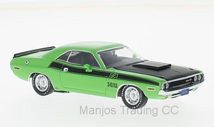 PRD407 - 1970 DODGE CHALLENGER T/A GREEN